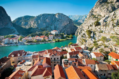omis, adriatic, dalmatian coast, cruise, vacation